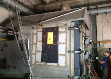 Завершился очередной этап разработки противопожарной двери